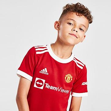 adidas Manchester United FC 2021/22 Home Kit Children