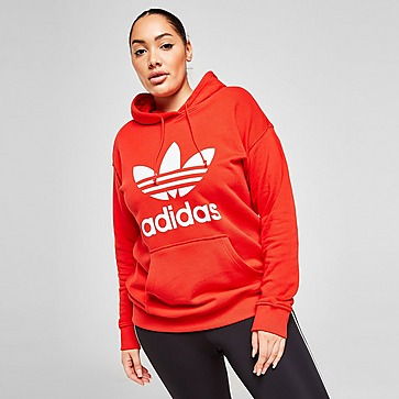 adidas Originals Plus Size Overhead Trefoil Hoodie