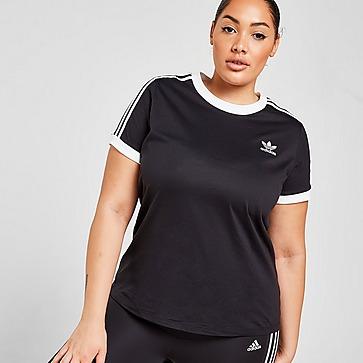 adidas Originals 3-Stripes California Plus Size T-Shirt