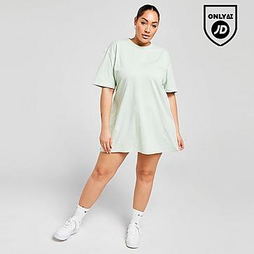 Pink Soda Sport Plus Size Essential T-Shirt Dress
