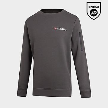Napapijri Pocket Sleeve Fleece Crew Sweatshirt Junior