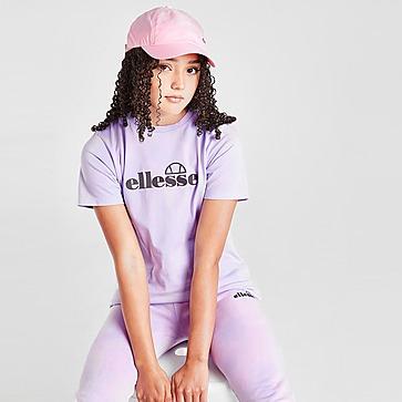 Ellesse Girls' Fernanda Boyfriend Tie-Dye T-Shirt Junior