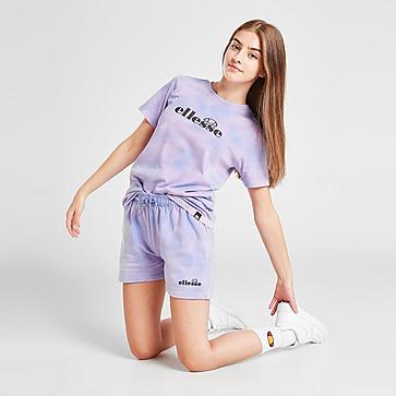 Ellesse Girls' Zeta Tie Dye Shorts Junior