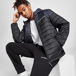 Calvin Klein Colour Block Bubble Jacket