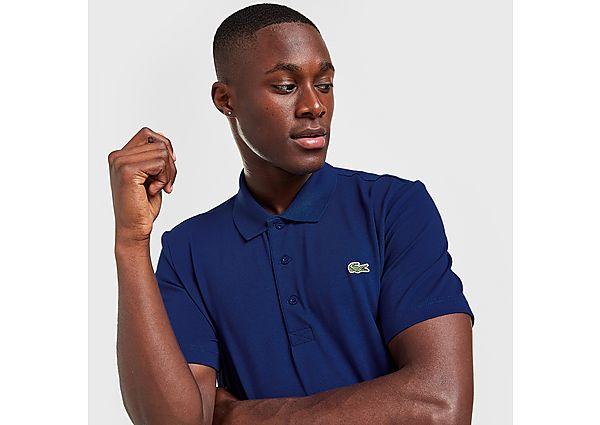 Lacoste Alligator Short Sleeve Polo Shirt - Blue - Mens