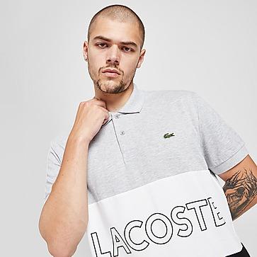 Lacoste Colour Block Linear Polo Shirt