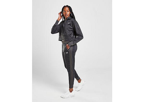 Under Armour UA Armour Fleece Tape Joggers - Black - Womens
