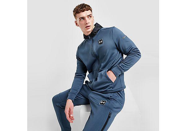 Under Armour UA Armour Fleece Full Zip Hoodie - Blue - Mens