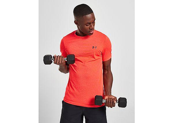 Under Armour Rush Seamless Illusion T-Shirt - Orange - Mens