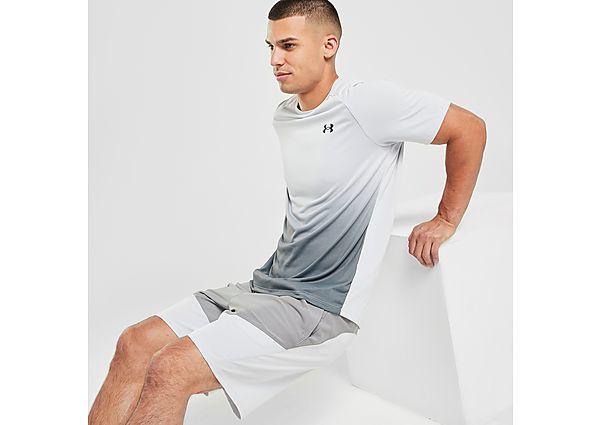Under Armour Tech Fade T-Shirt - White - Mens
