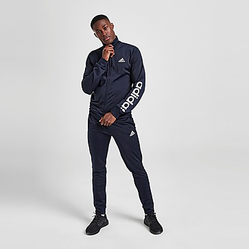 adidas Badge of Sport Poly Linear Tracksuit
