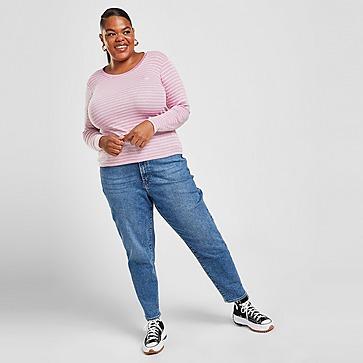 Levis Stripe Baby Logo Plus Size Long Sleeve T-Shirt