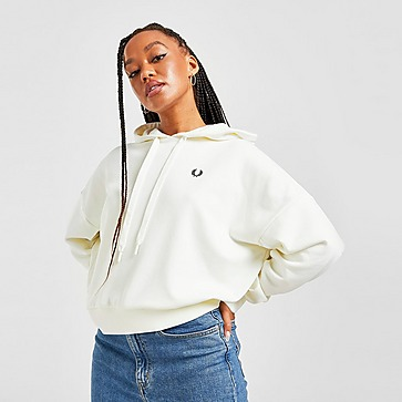 Fred Perry Small Logo Panel Sleeve Hoodie