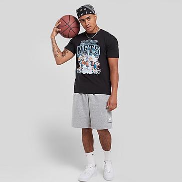 Official Team Space Jam x Brooklyn Nets On Court T-Shirt