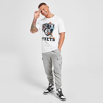 Official Team Space Jam x Brooklyn Nets Warm Up T-Shirt