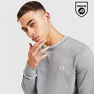 Fred Perry Twin Tip Long Sleeve T-Shirt