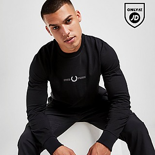 Fred Perry Central Emblem Long Sleeve T-Shirt