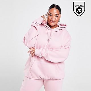 Pink Soda Sport Essentials Boyfriend Plus Size Hoodie