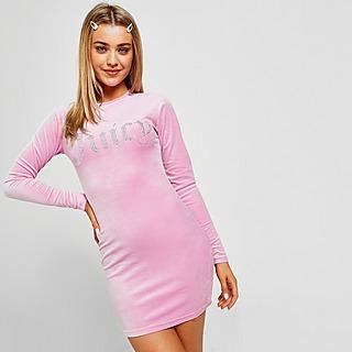 JUICY COUTURE Diamante Long Sleeve Dress