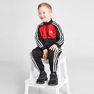 adidas Colour Block Poly Tracksuit Children