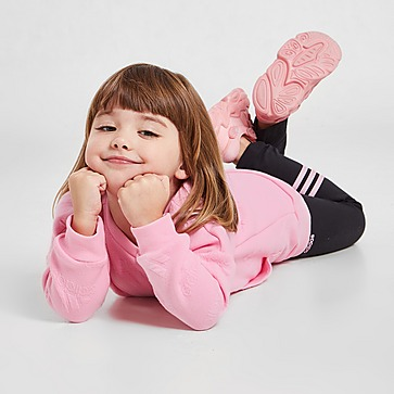 adidas Girls' Sport Sweatshirt/Leggings Set Infant