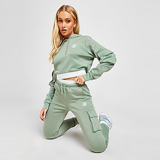 SikSilk Poly Cargo Track Pants