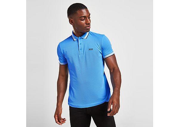 BOSS Paddy Polo Shirt - Blue - Mens