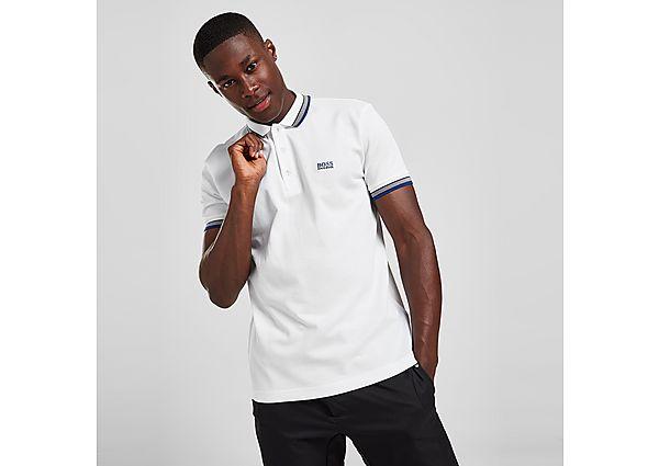 BOSS Paddy Polo Shirt - White - Mens