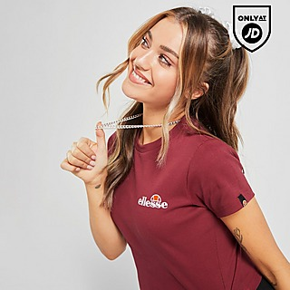 Ellesse Baby Rib Crop T-Shirt