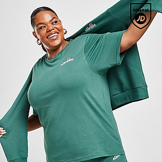 Ellesse Tennis Embroidered Plus Size T-Shirt