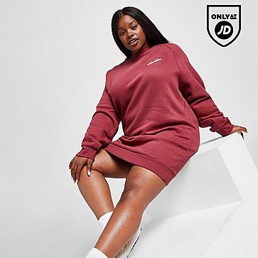 Ellesse Plus Size Logo Crew Dress