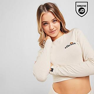 Ellesse Core Long Sleeve Crop T-Shirt