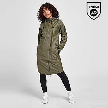 Ellesse Lightweight Long Rain Jacket