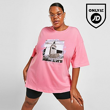 Supply & Demand New York Circle Graphic Plus Size T-Shirt