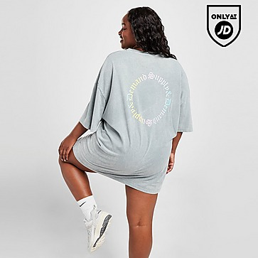 Supply & Demand Ombre Graphic Plus Size T-Shirt