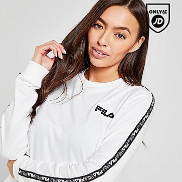 Fila Tape Long Sleeve Boyfriend T-Shirt