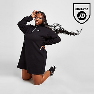 Fila Plus Size 1/4 Zip Dress