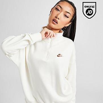 Nike Double Futura 1/4 Zip Fleece Top