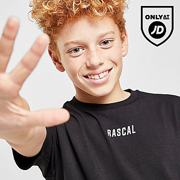 Rascal Ombre Grid T-Shirt Junior