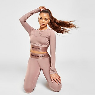 Pink Soda Sport Contour Long Sleeve Top