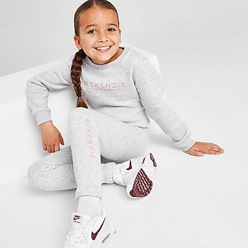 McKenzie Girls' Mini Essential Fleece Crew Set Children
