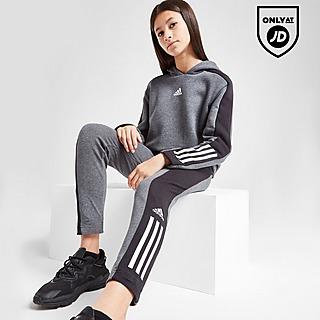 adidas Girls' Badge of Sport Hoodie/Leggings Set Junior