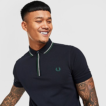 Fred Perry Tip Placket Polo Shirt
