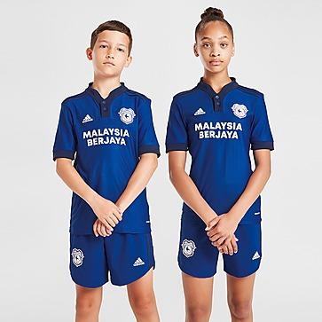 adidas Cardiff City FC 2021/22 Home Shirt Junior