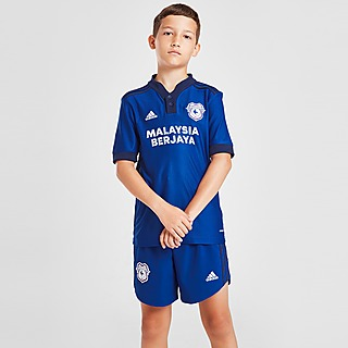 adidas Cardiff City FC 2021/22 Home Shorts Junior