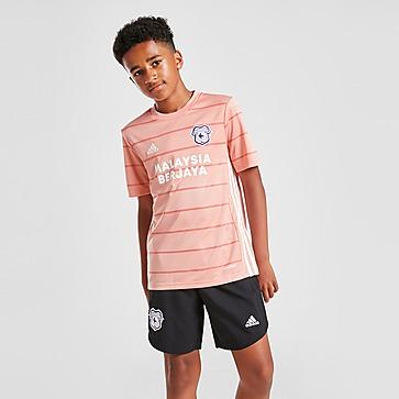 adidas Cardiff City FC 2021/22 Away Shorts Junior