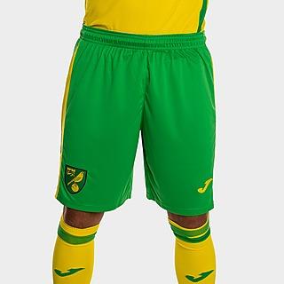 Joma Norwich City FC 2021/22 Home Shorts