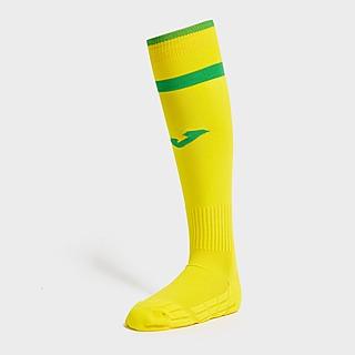 Joma Norwich City FC 2021/22 Home Socks Junior