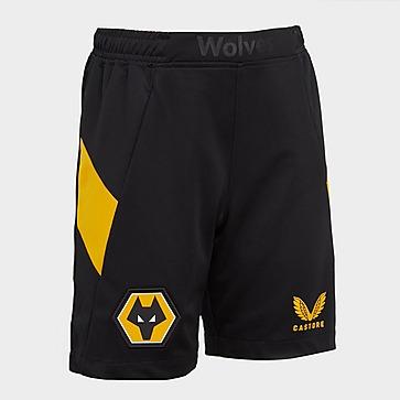 Castore Wolverhampton Wanderers 2021/22 Home Shorts Junior