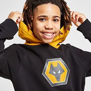 Official Team Wolverhampton Wanderers FC Essential Hoodie Junior